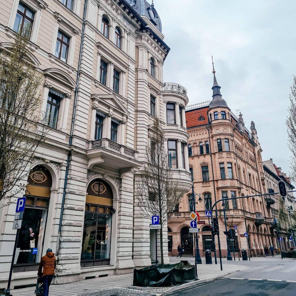 ulica Piotrkowska w Łodzi