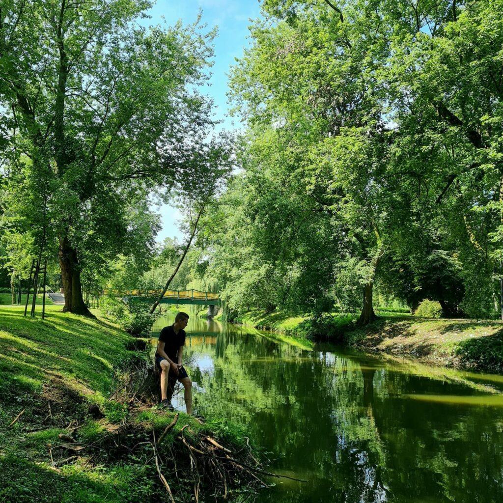 park w Rawie Mazowieckiej