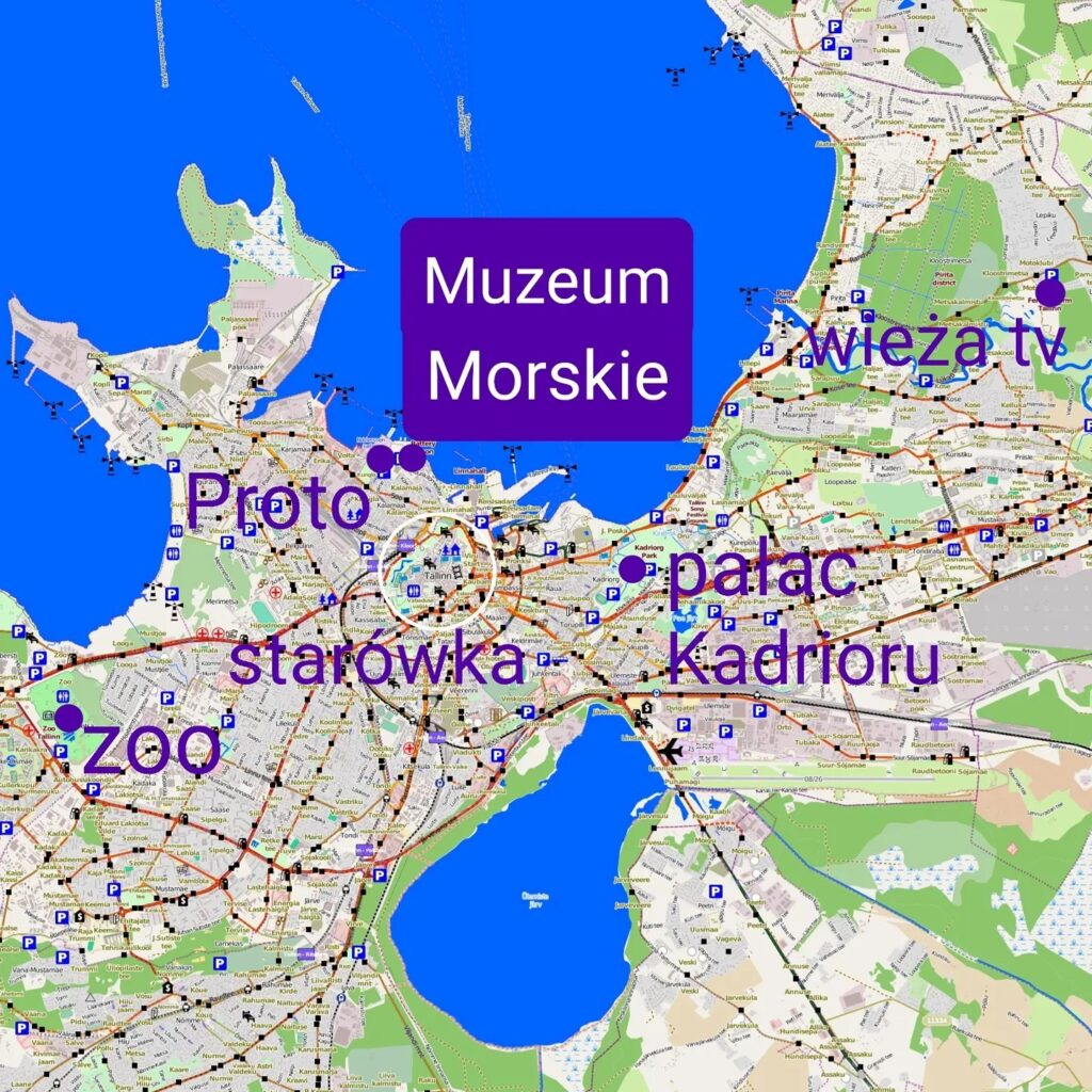 Tallin mapa